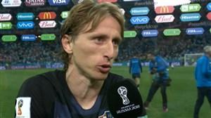 مصاحبه سرمربی کرواسی و مودریچ پس از بازی با آرژانتین