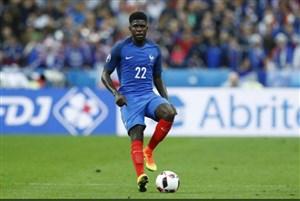 دفاع تمام قد مدافع تیم ملی فرانسه از لیونل مسی