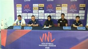 کنفرانس خبری قبل از بازی سرمربیان ایران - کره جنوبی