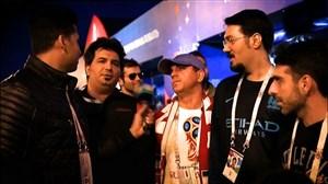 گفتگو با هواداران ایرانی دو تیم کرواسی - آرژانتین