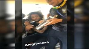 شادی و آواز برزیلی ها در اتوبوس