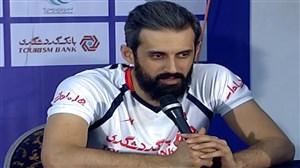 حواشی دیدار تیم ملی والیبال ایران - بلغارستان