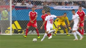 سوپرگل ژاکا؛ گل اول سوئیس به صربستان