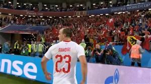 واکنش های هواداران پس از بازی صربستان - سوئیس