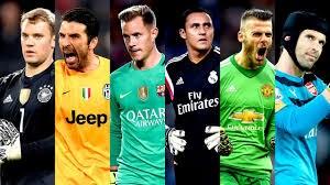 بهترین دروازه بان های اروپا در فصل 18-2017