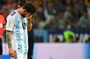 آمار بسیار ضعیف مسی در جامهای جهانی