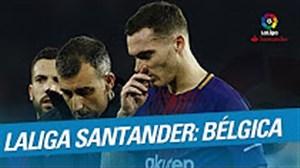 بازیکنان بلژیکی شاغل در لیگ لالیگا اسپانیا
