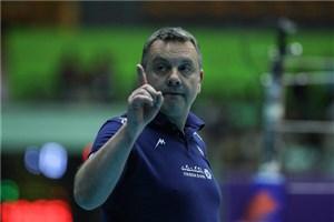 کولاکوویچ: خوشحالم در ست سوم شکست خوردیم