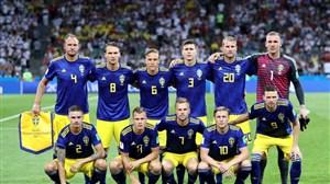 رونمایی از ۱۱ بازیکن سوئد و سوئیس