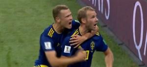گل اول سوئد به آلمان (اولا تویوونن )