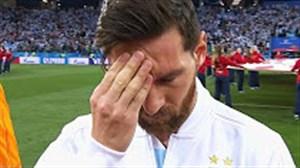 ناکامی ها و لحظات غمگین لیونل مسی در تیم ملی آرژانتین