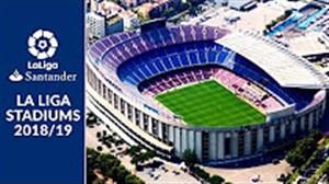 استادیوم های لالیگا در فصل 19-2018