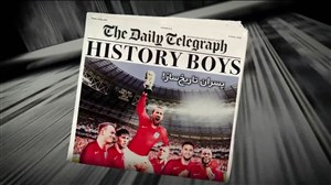 تمام انگلیس در رویای قهرمانی جامجهانی 2018