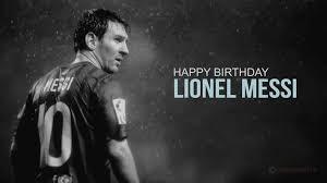 به مناسبت تولد 31 سالگی لیونل مسی