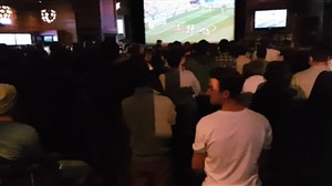 خوشحالی هواداران انگلیس پس از گل اول به پاناما