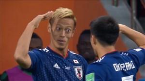 گل دوم ژاپن به سنگال (هوندا)