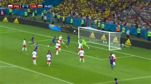 گل اول کلمبیا به لهستان (یری مینا)
