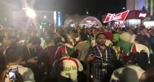 ایرانی ها در سارانسک منتظر بازی پرتغال