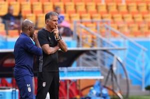 جلسه مثبت کارلوس کیروش و رئیس فدراسیون فوتبال