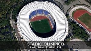 همهی استادیوم های سری آ در فصل 19-2018