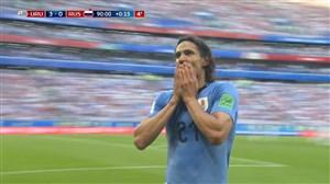 گل سوم اروگوئه به روسیه (کاوانی)