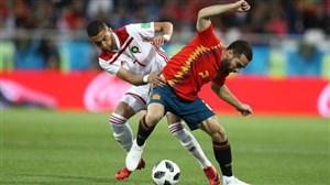 گزارش بازی اسپانیا- مراکش 04/04/97 جام جهانی 2018