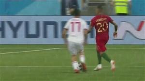 گل اول پرتغال به ایران (کوارشما)