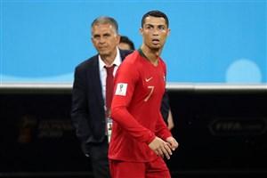 درخواست کیروش از بازیکنان پرتغال