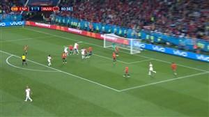 گل دوم مراکش به اسپانیا (النصیری)