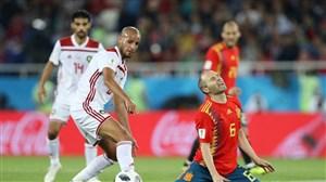 اسپانیا 2- مراکش 2؛ شاهکار شیرهای اطلس