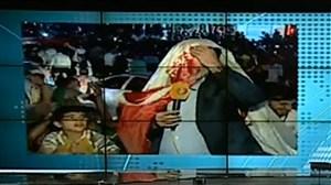 شوخی هواداران تیم ملی با خبرنگار شبکه خبر