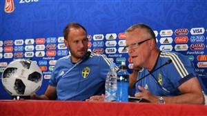 سرمربی سوئد: بازی با آلمان مارا تقویت کرده