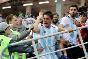 سرنوشت غم انگیز هوادار آرژانتینی در روسیه