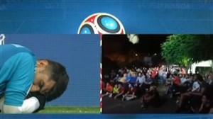 واکنش هواداران در سوریه به سیوپنالتی توسطبیرانوند