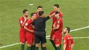 بررسی لحظه های حساس بازی ایران و پرتغال