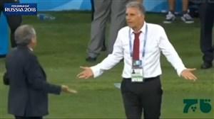 دابسمش طنز کی روش بعد از بازی ایران - پرتغال