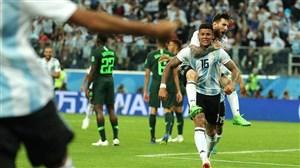 گزارش بازی آرژانتین و نیجریه تاریخ 1397/4/5