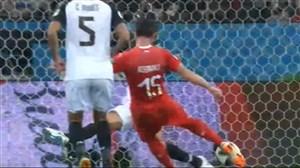 گل اول سوئیس به صربستان با گزارش علیفر