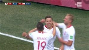 گل اول لهستان به ژاپن (بدنارک)