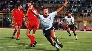 برد انگلیس مقابل بلژیک در جام جهانی 1990