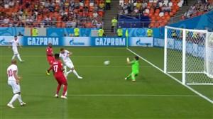 گل اول تونس به پاناما (فخرالدین بن یوسف)