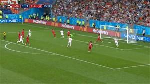 گل دوم تونس به پاناما (وهبی خضری)