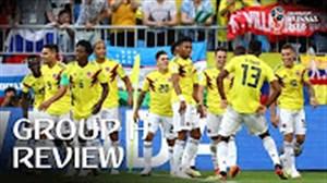 مروری بر گروه H جام جهانی 2018