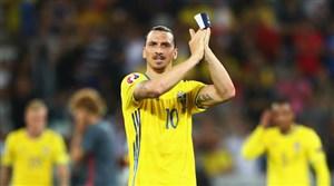 حمایت زلاتان از تیم سوئد علیرغم کنار گذاشتن شدن