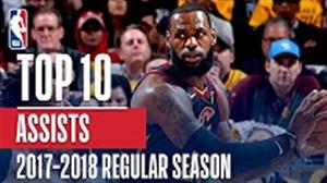 بهترین پاس گلهای بسکتبال NBA در فصل 18-2017