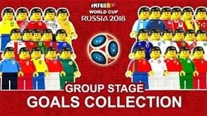 شبیه سازی لگو منتخب گلهای جام جهانی روسیه 2018