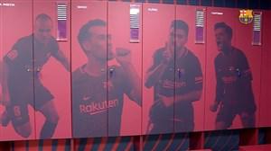 رختکن جدید باشگاه بارسلونا برای فصل جدید 19-2018