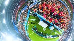 تصاویر 360 درجه و تماشایی فیفا از جام جهانی 2018 روسیه