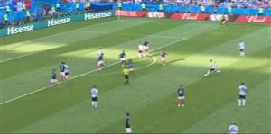گل اول آرژانتین به فرانسه با سوپرگل دیماریا