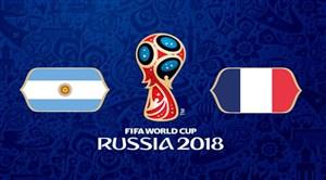 خلاصه بازی فرانسه 4 - آرژانتین 3 (جام جهانی روسیه)